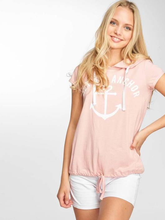 Sublevel T-Shirt Hooded rose