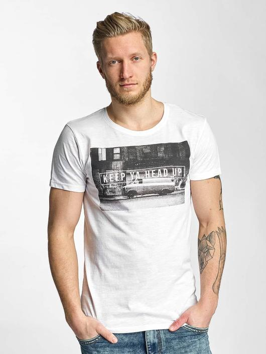 Sublevel T-Shirt Keep Ya Head Up weiß