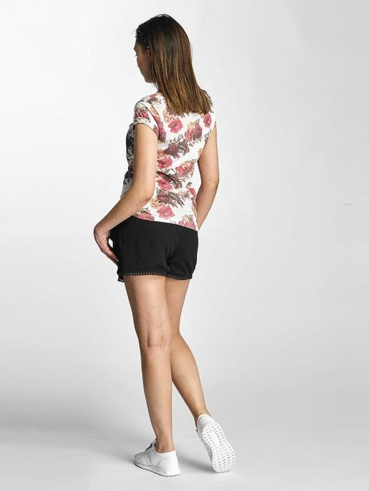 Sublevel T-Shirt Roses weiß