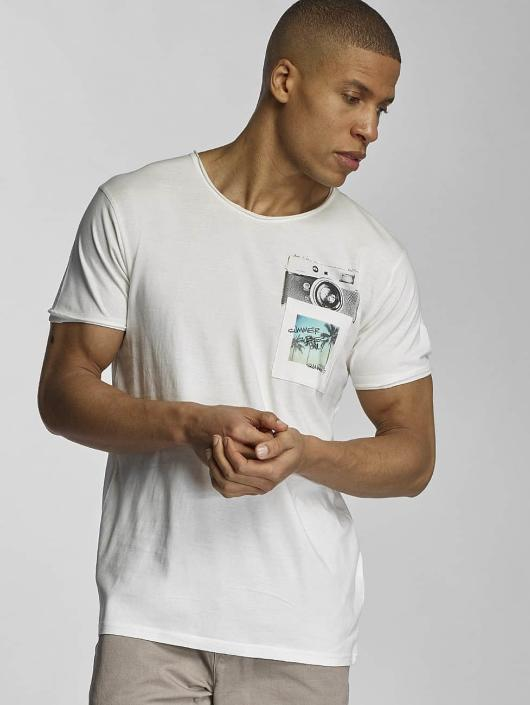 Sublevel T-Shirt Summer Vibes Only white