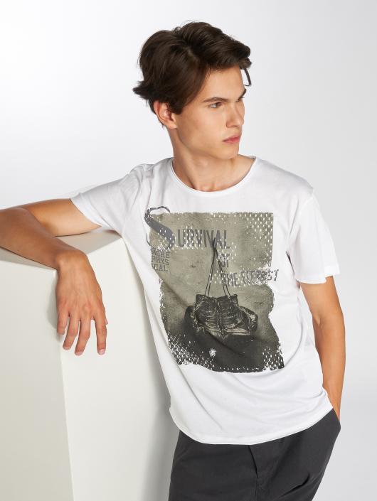 Sublevel T-Shirt Survival white