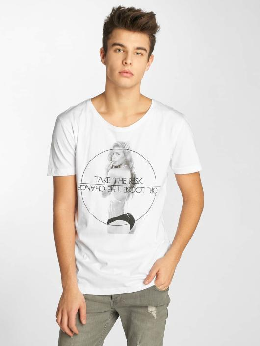 Sublevel T-Shirt Take The Risk white