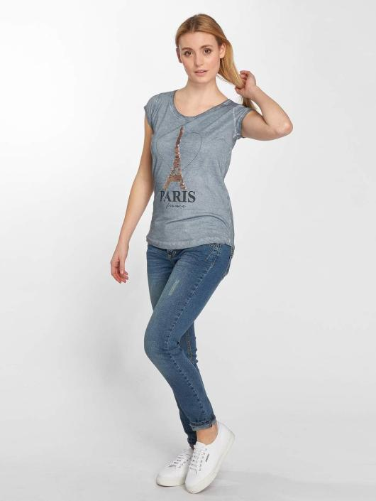 Sublevel T-Shirty PARIS niebieski