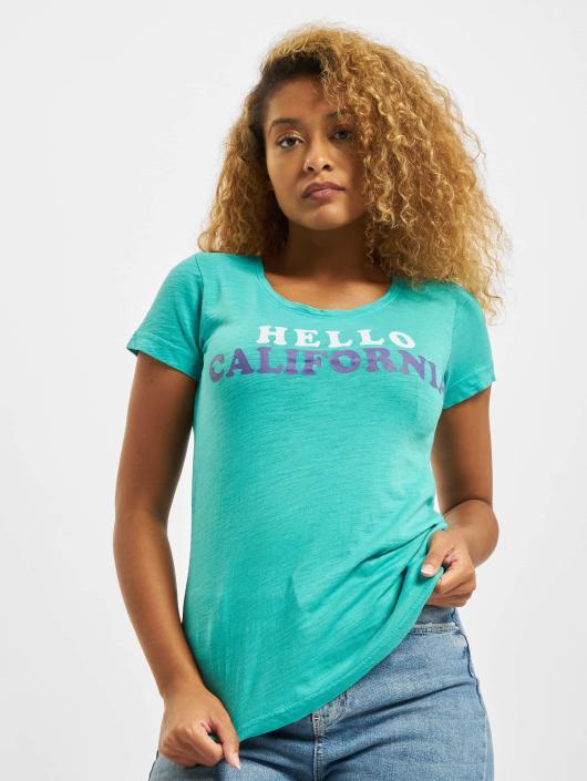 Sublevel T-skjorter Hello turkis