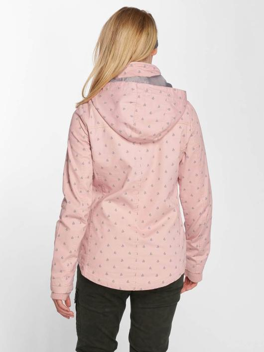 Sublevel Veste mi-saison légère Hooded rose