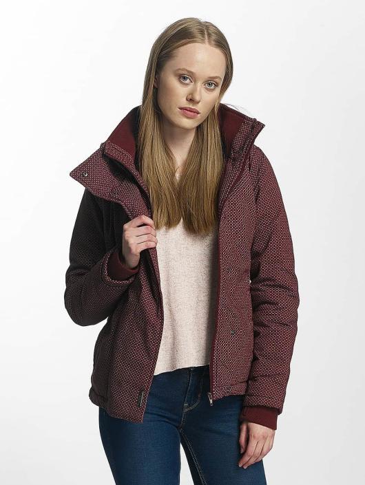 Sublevel Winter Jacket Mahogany red