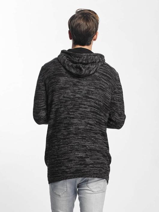 Sublevel Zip Hoodie Knit Zip black