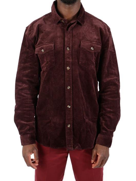 Suit Koszule Jason-Q6030 czerwony