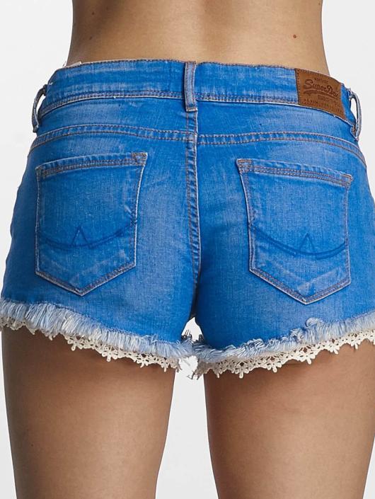 Superdry Shorts Lace Trim Hot blå