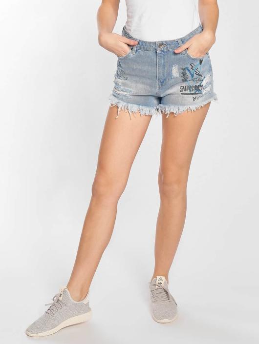 Superdry Shorts Eliza Cut Off indigo
