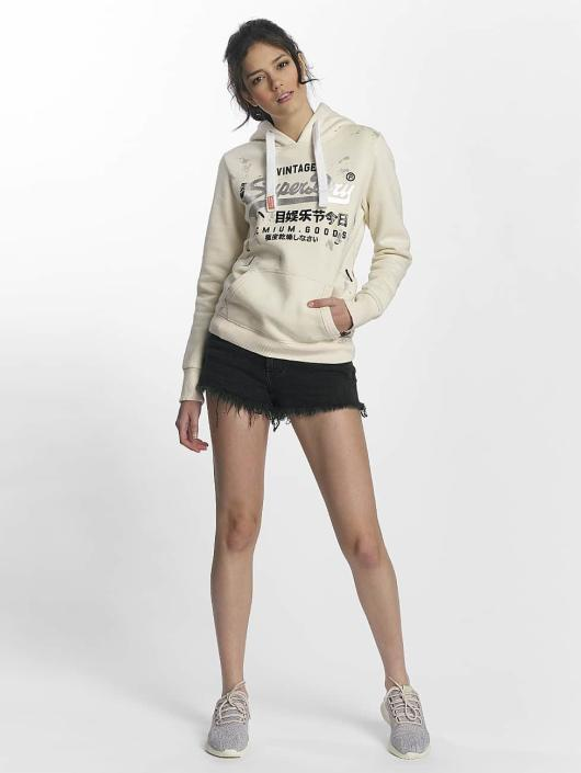 Superdry Shorts Eliza Cut Off nero