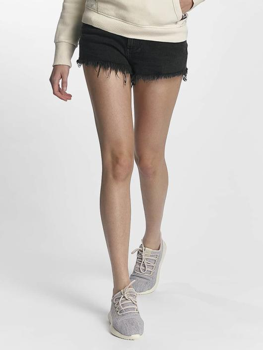 Superdry Shorts Eliza Cut Off schwarz