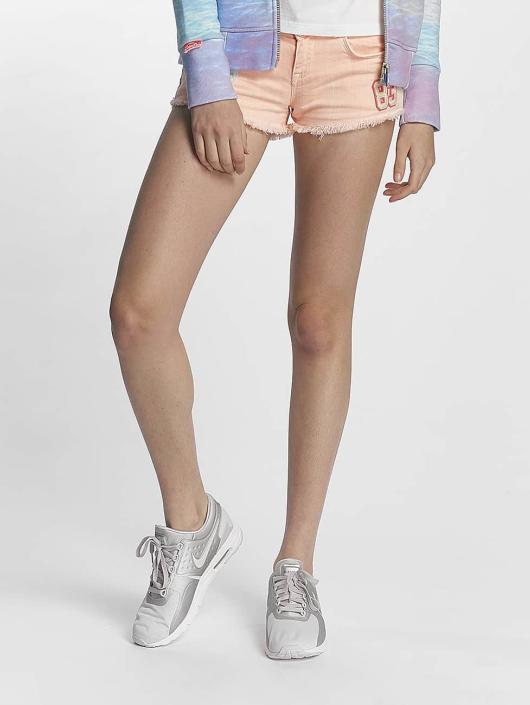 Superdry Shortsit Denim Hot Shorts Miami oranssi