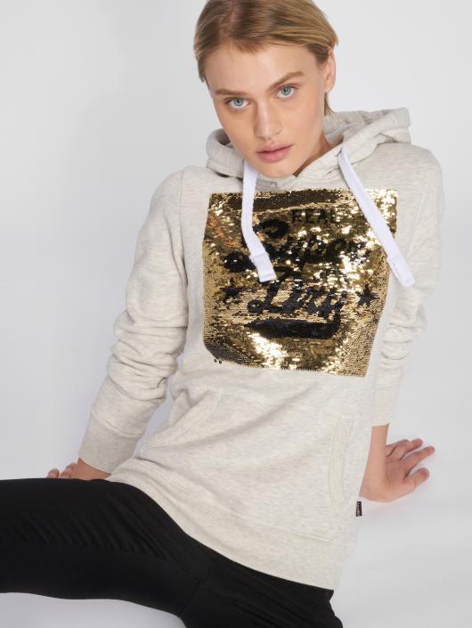 526257 Ophtqnxu Beige Superdry Entry Premium Femme Sequin Sweat Capuche RS8XqTS