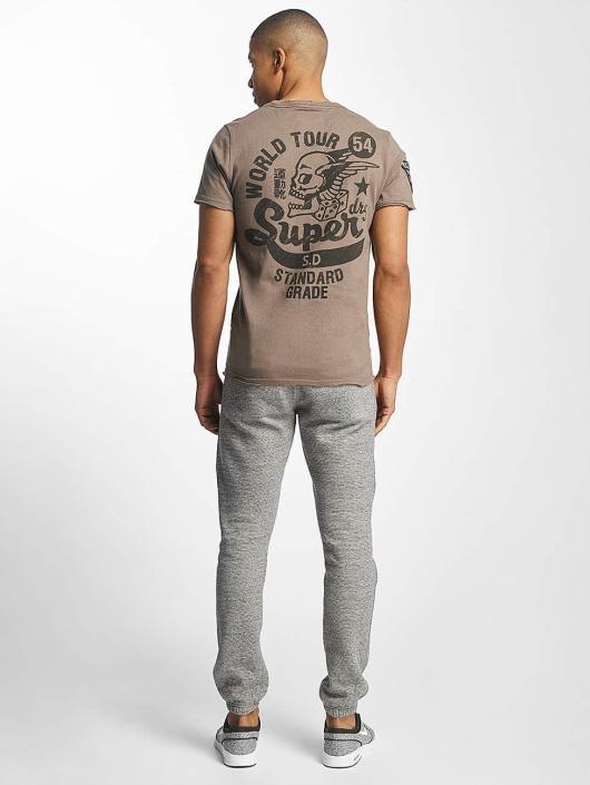 Superdry T-paidat World Tour ruskea
