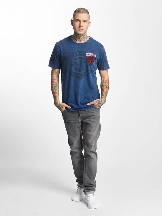 Homme shirt Superdry World Bleu Tour T 429761 sQdthrCx