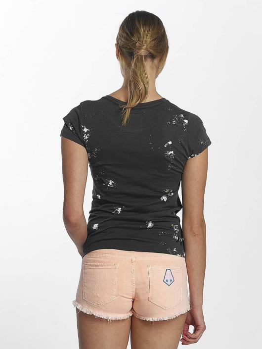 Superdry t-shirt Premium Goods Doodle Entry grijs