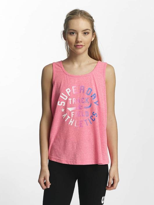 Superdry Top Trackster pink