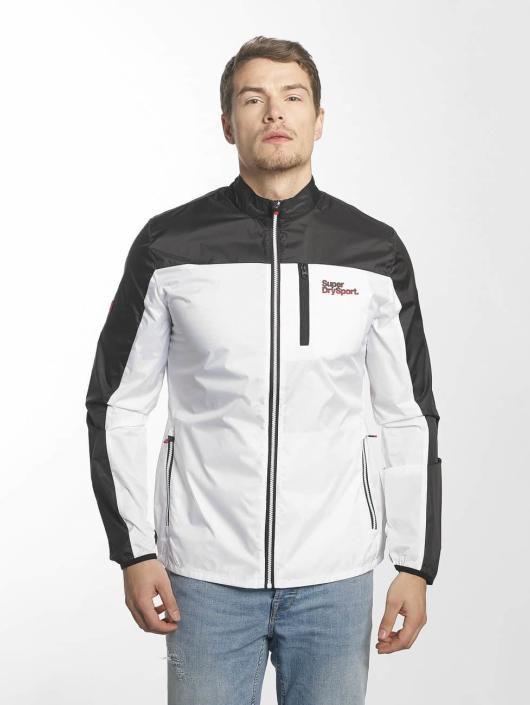 pretty nice 14d71 74dab Superdry Sport Core Running Shell Jacket White/Black