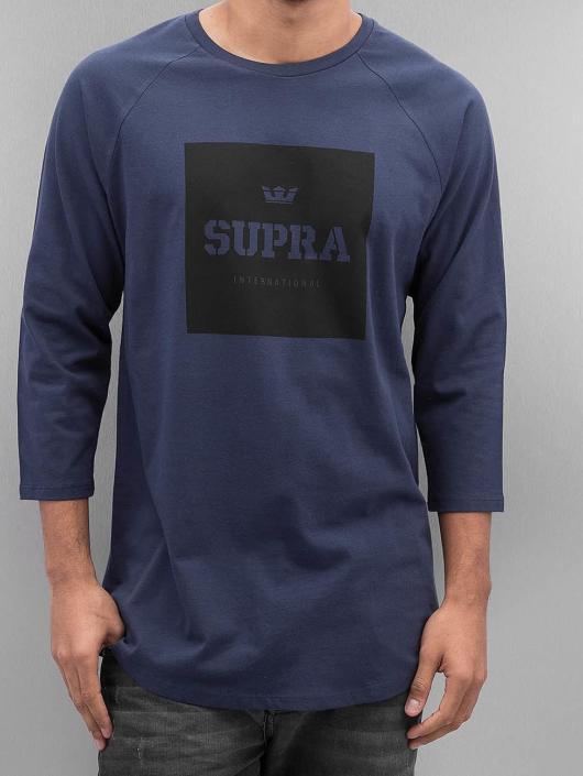 Supra Pitkähihaiset paidat International Prem sininen