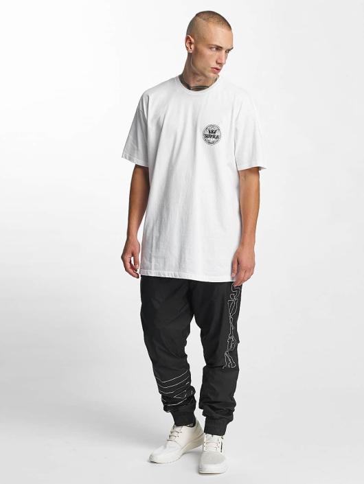 Supra T-Shirt Geo Regular weiß