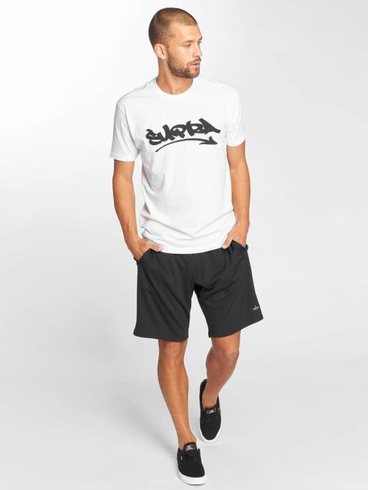 Supra T-Shirt Marker Felt white