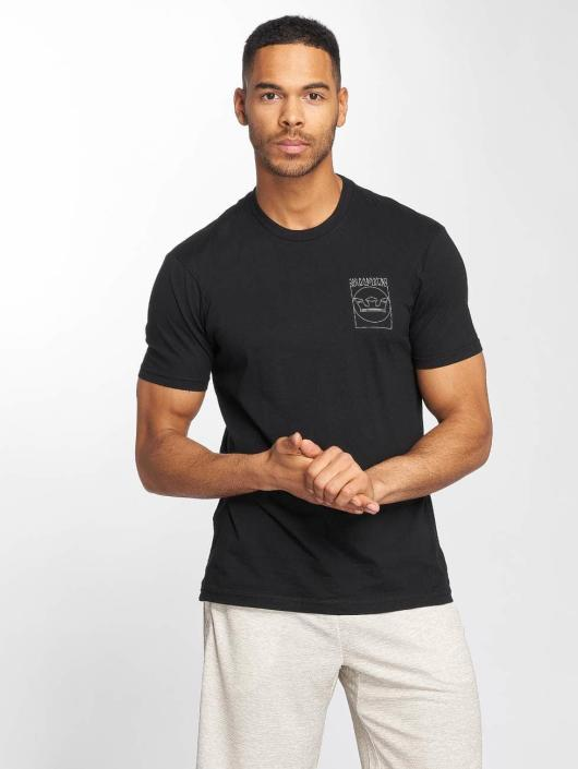 Supra T-Shirty Lines czarny