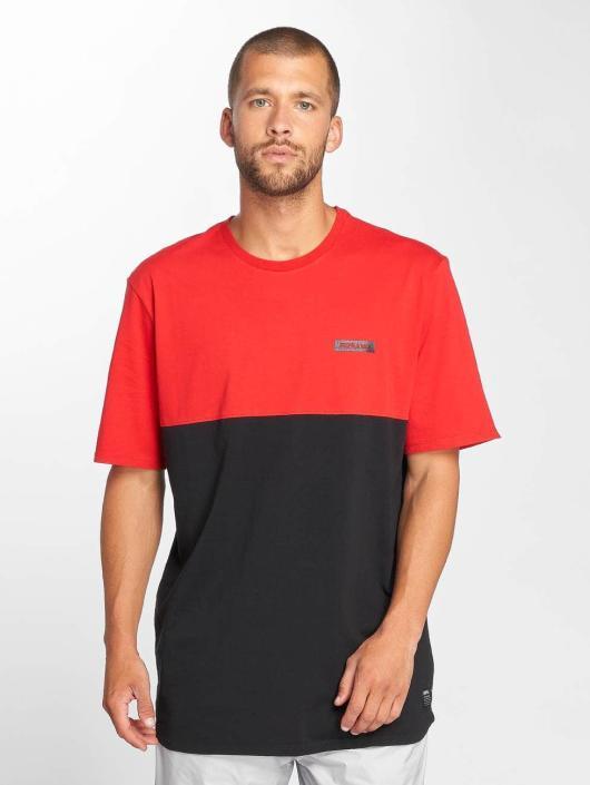 Supra T-Shirty Block czerwony