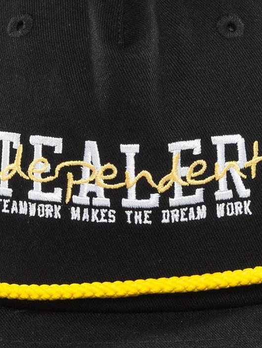 Tealer Snapback Caps Independent svart