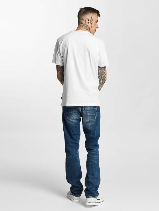Blanc Color Glitch Homme T Tealer 378438 shirt 1TPOBO8