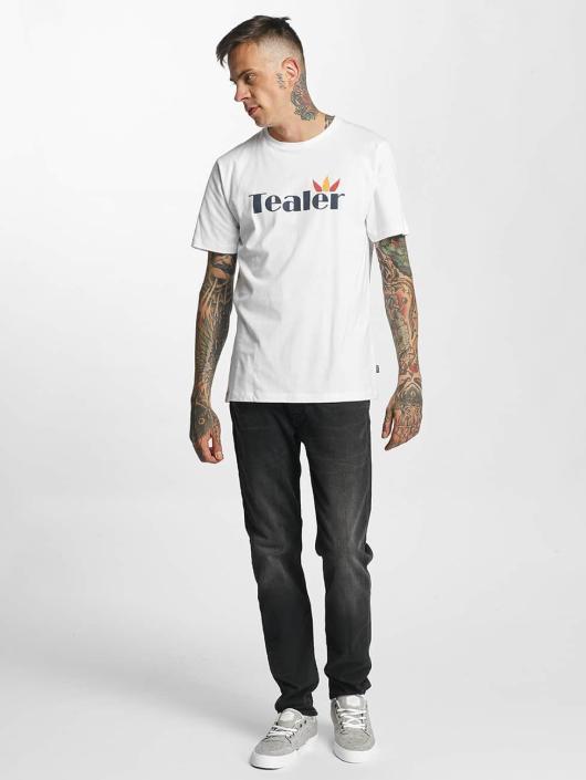 Tealer T-Shirt Leaf white