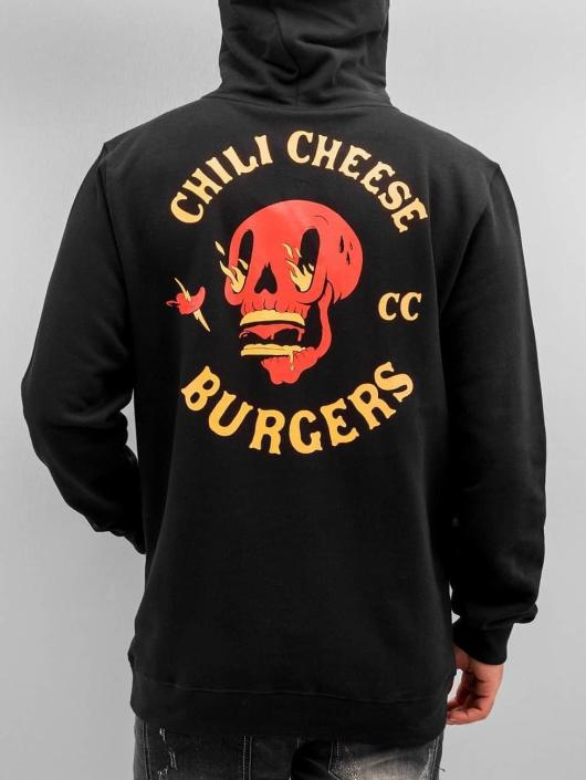 The Dudes Mikiny Chilli Cheese èierna