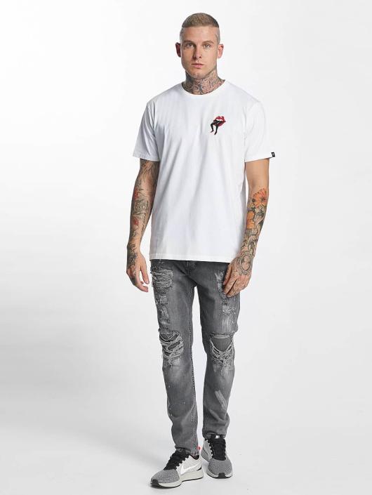 The Dudes T-paidat Lips valkoinen