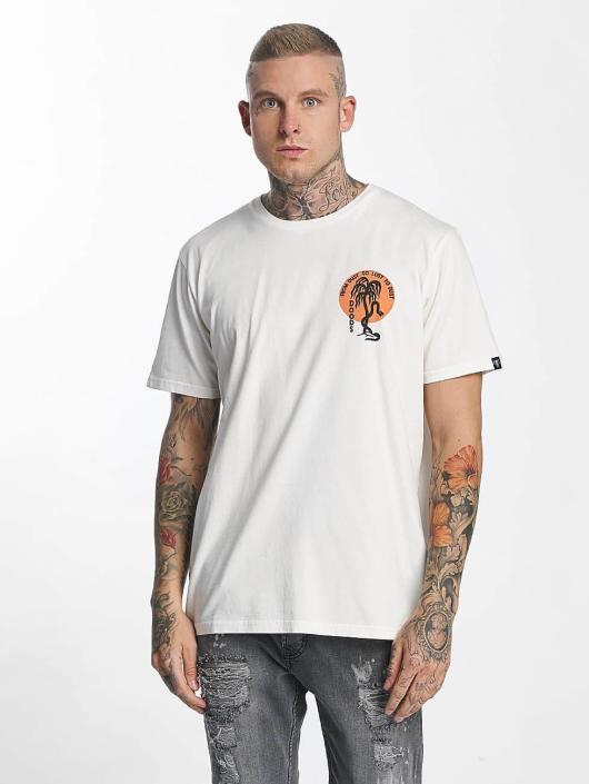 The Dudes T-paidat Moon valkoinen