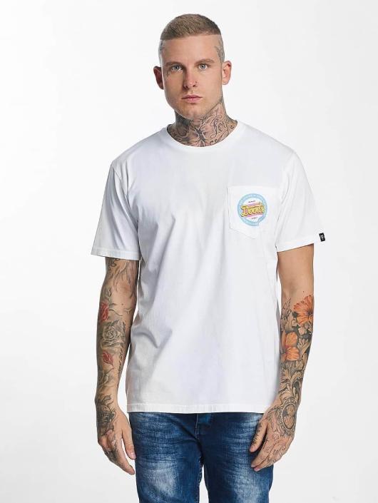 The Dudes T-paidat Doods Miami valkoinen