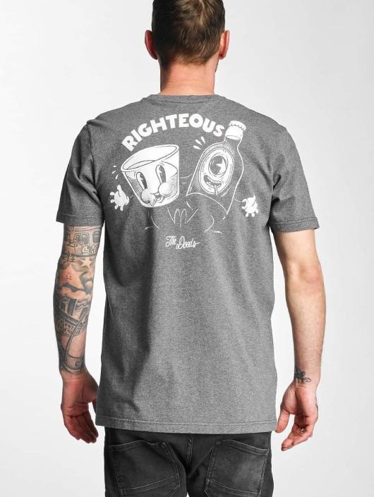 The Dudes T-Shirt Smoking Kills grau