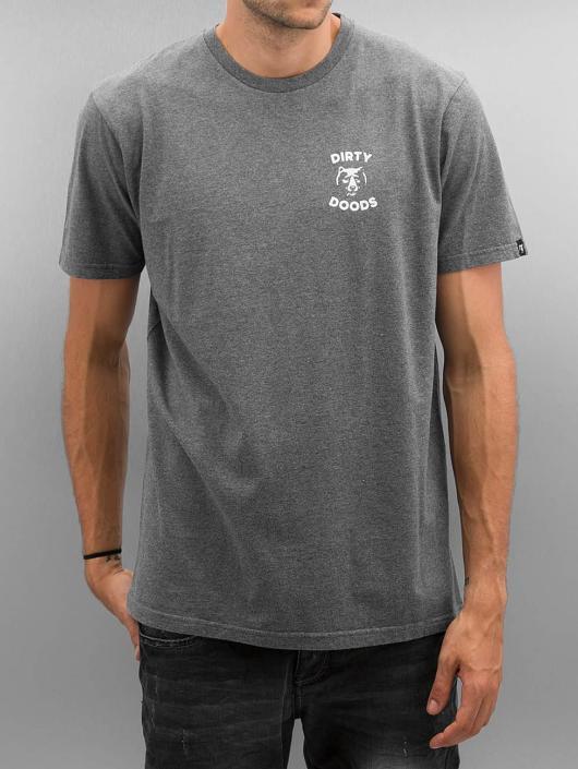 The Dudes T-Shirt Dirty Deeds grey