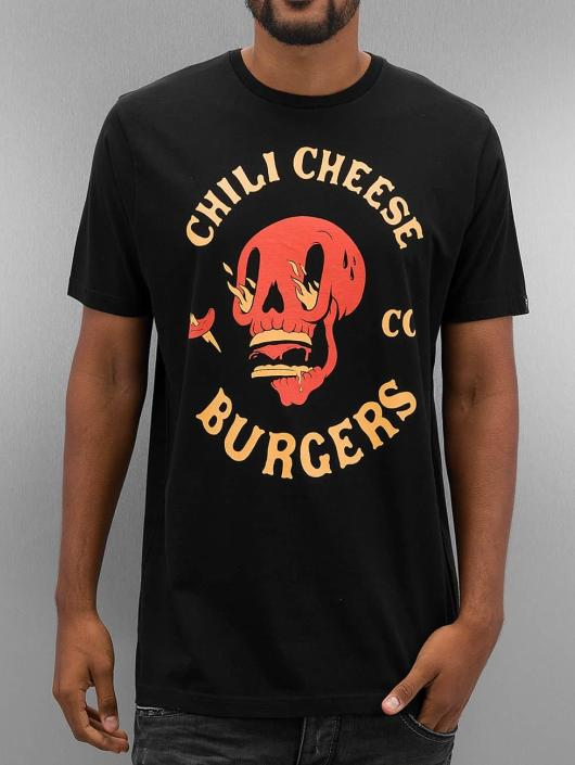 The Dudes T-Shirt Chili And Cheese schwarz