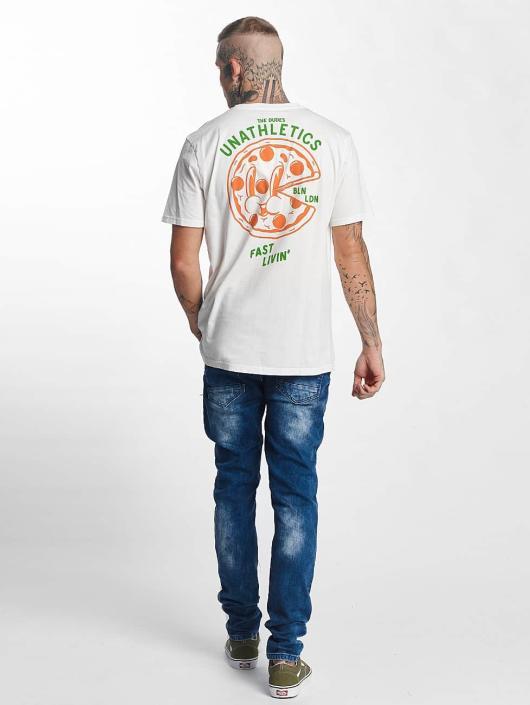 The Dudes t-shirt Pizza 24/7 wit