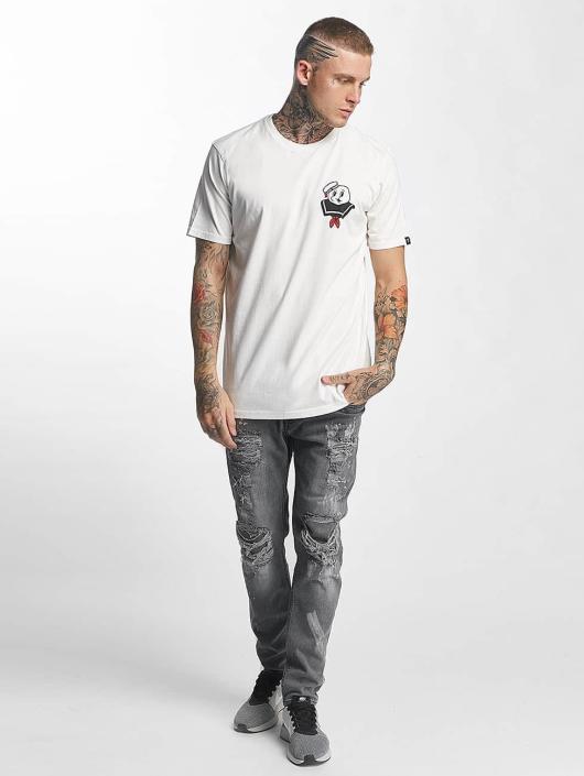 The Dudes T-skjorter Shove Em hvit