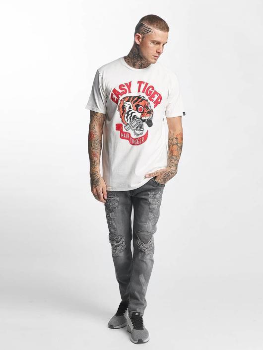 The Dudes T-skjorter Easy Tiger hvit