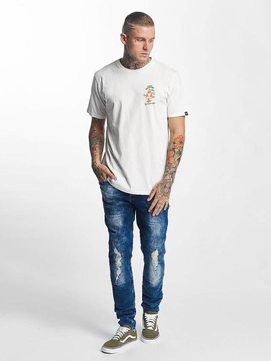 The Dudes T-skjorter Pizza 24/7 hvit