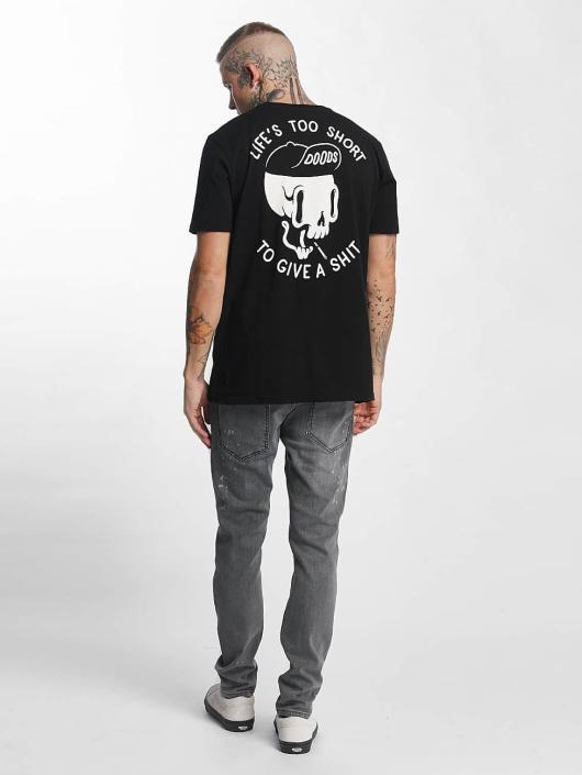 The Dudes T-skjorter Too Short svart