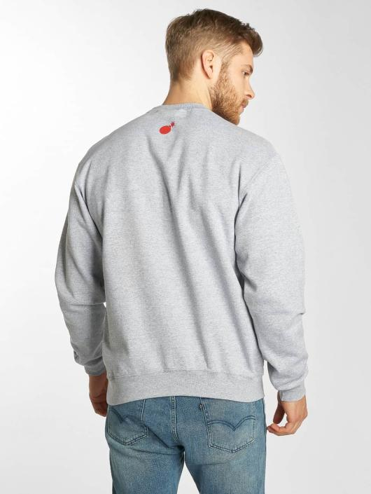 The Hundreds Pullover Lover grau