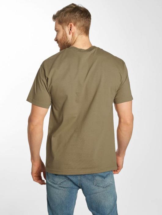 The Hundreds T-shirt Camo Bar marrone