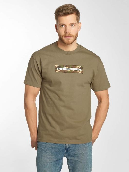 The Hundreds T-shirts Camo Bar brun