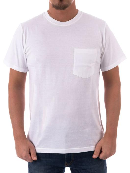 The Hundreds T-Shirty Perfect Pocket bialy