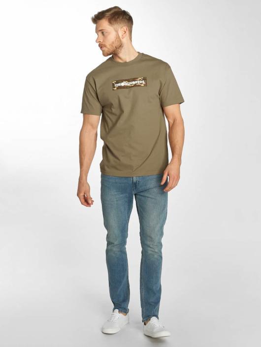 The Hundreds T-Shirty Camo Bar brazowy