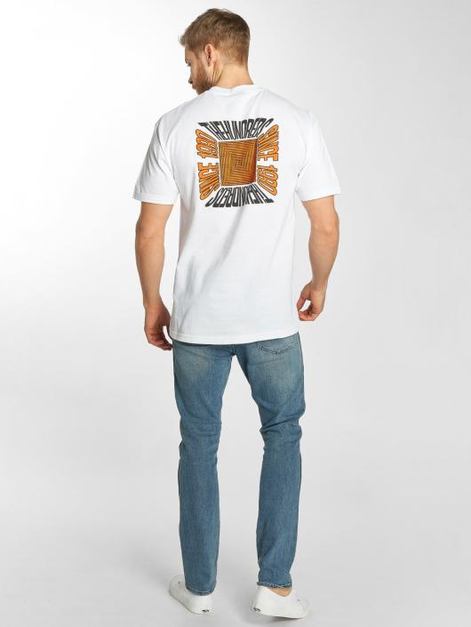 The Hundreds T-skjorter Square hvit