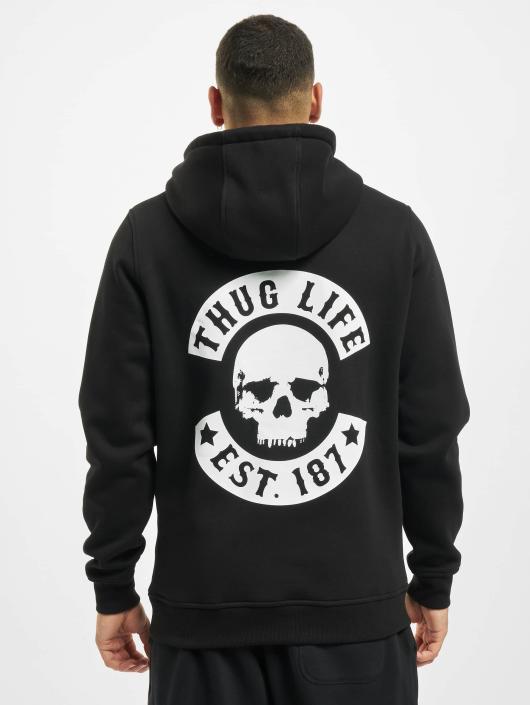Thug Life Basic Hoodie Skull black